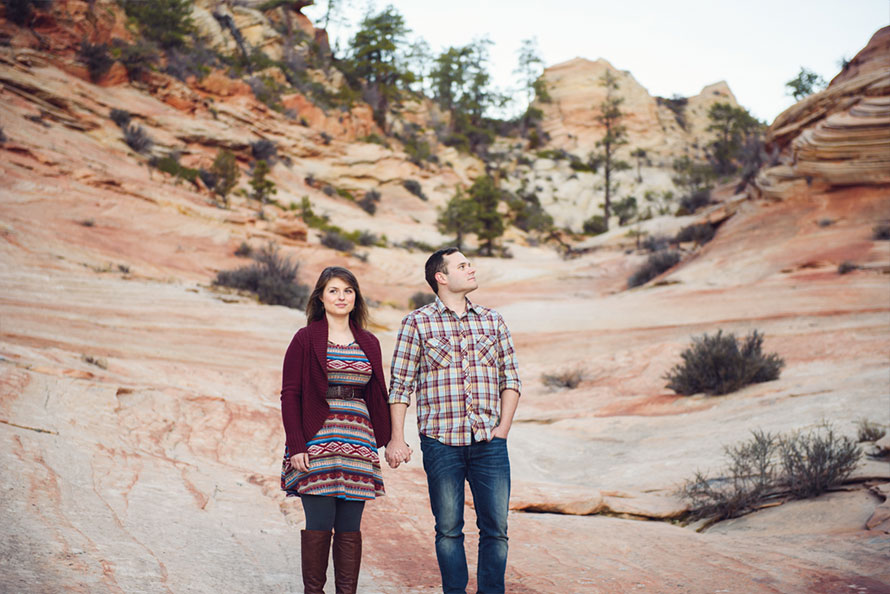 Zion-National-Park-Engagement-14